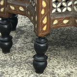 Ottoman Mother of Pearl Inlaid Occasional Table - Detail View - 4