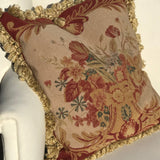 A Pair of Aubusson Style Tapestry Cushions - Detail View - 4