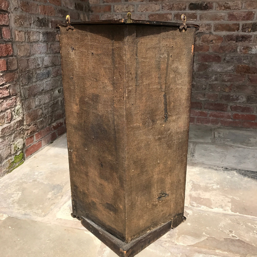 18th Century Chinoiserie Japanned Corner Cupboard - Back View - 9