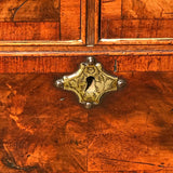 Early 18t Century Oak & Walnut Chest of Drawers - Escutcheon Detail View - 6