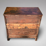 Early 18th Century Oak & Walnut Chest of Drawers - Back View - 3