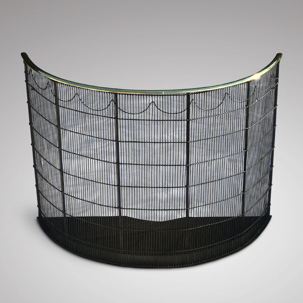 19th Century Curved Fire Guard - Main View - 1
