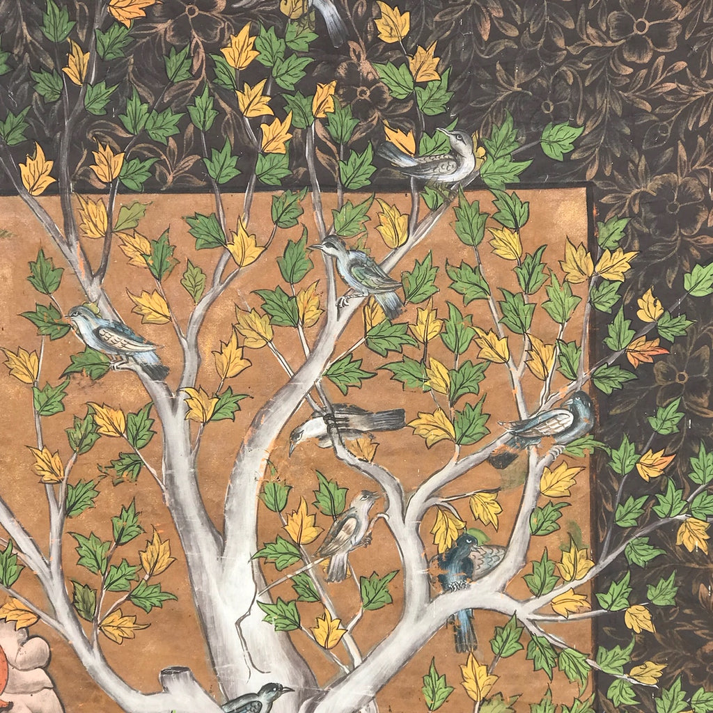 Indian School Painting of a Mogul's Camp - Detail View - 3