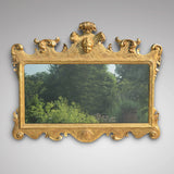 Superb George II Carved Giltwood Mirror - Main Front View - 2
