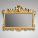 Superb George II Carved Giltwood Mirror - Main Front View - 1