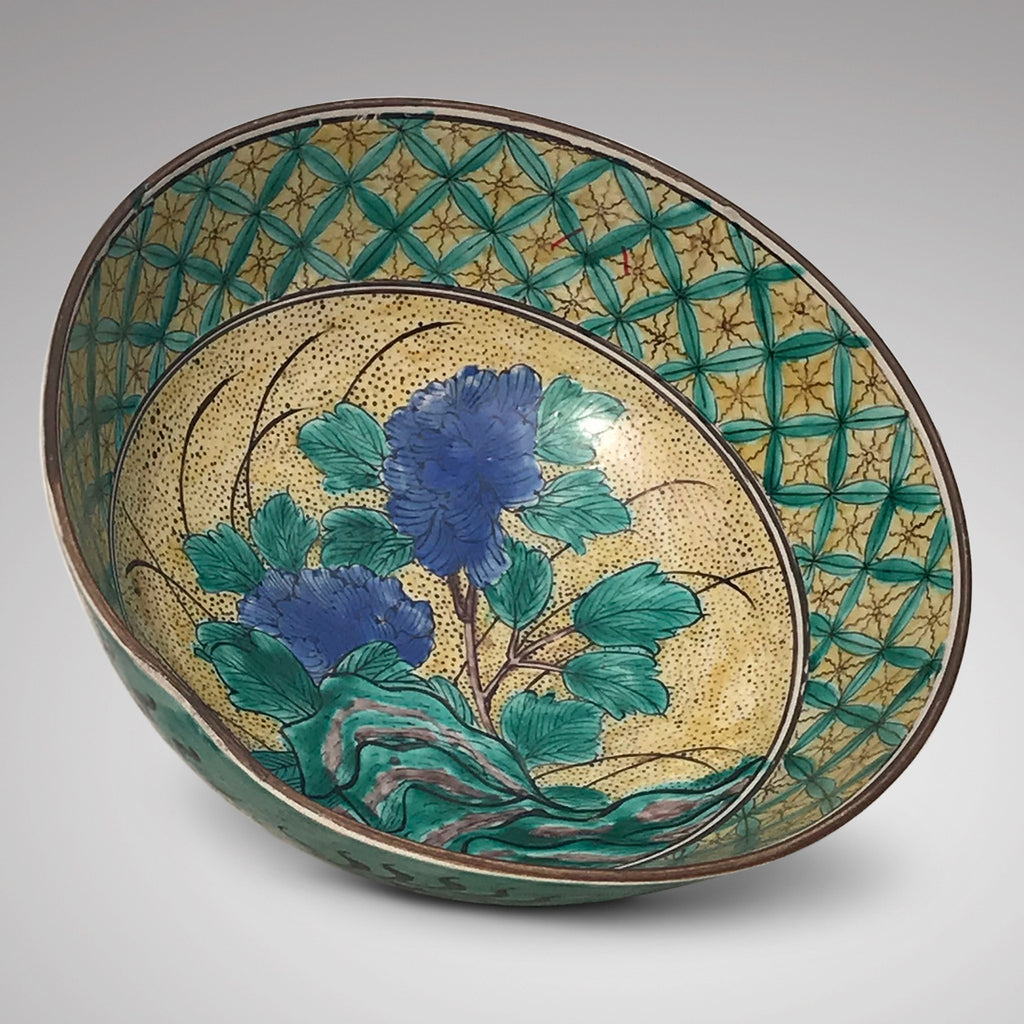 Japanese Polychrome Bowl - Main View - 1