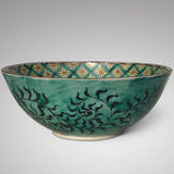 Japanese Polychrome Bowl - Side View - 3