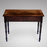 William IV Mahogany Side Table