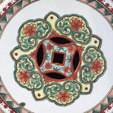 Pair of Chinese Ceramic Garden Seats - Top View - 3