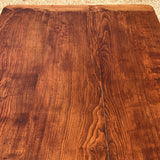 19th Century Elm Dining Table - Top Detail - 9