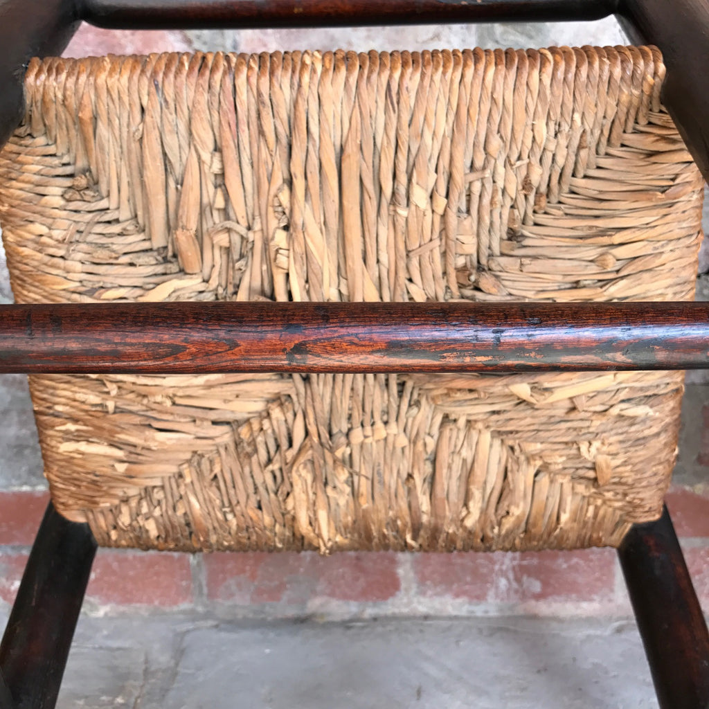Pair of 18th Century Elm & Ash Country Chairs - Detail Of Underside - 10
