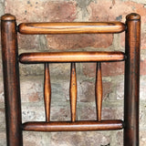 18th Century Elm & Ash Country Chairs - Back Detail View - 4