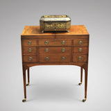 George III Mahogany Dressing Chest