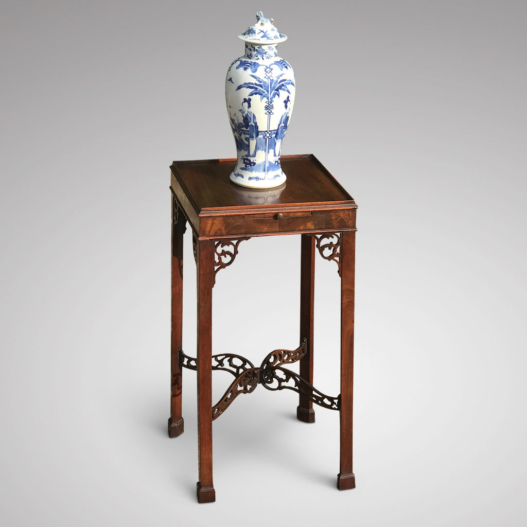 Edwardian Mahogany Kettle Stand in the Georgian Style - Main View - 1