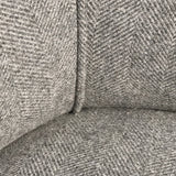 Edwardian Barrel Back Armchair - Fabric Detail View - 6