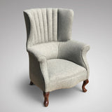 Edwardian Barrel Back Armchair - Front View - 3
