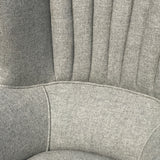 Edwardian Barrel Back Armchair - Upholstery Detail - 7