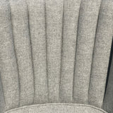 Edwardian Barrel Back Armchair - Upholstery Detail View - 5