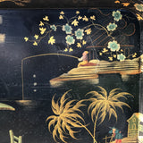 19th Century Papier Mache Chinoiserie Tray - Detail View - 2
