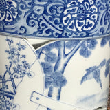 Japanese Blue & White Stick Stand - Detail View - 4