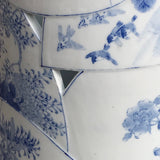 Japanese Blue & White Stick Stand - Detail View - 6