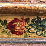 19th Century Stool in Original Paint - Detail View of Painted Frieze - 5