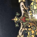 19th Century Papier-Mache Tray on Later Stand - Detail View - 7