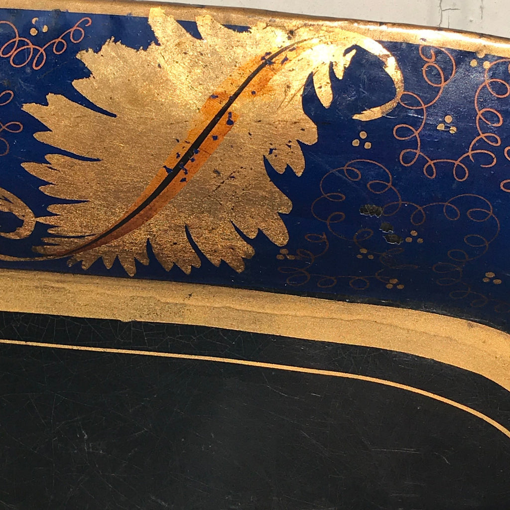 Large Regency Toleware Tray - Detail View - 2