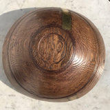 19th Century Treen Dairy Bowl - Underside View - 6