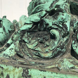 19th Century Bronze Sculpture of Vase of Roses - Detail View - 6