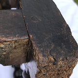 17th Century Oak Serving/Side Table - Foot Detail - 10