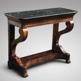 19th Century French Mahogany Console Table - Main View - 2