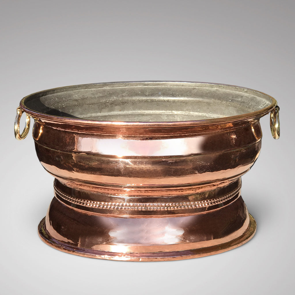 19th Century French Copper Wine Cooler - Main View - 2