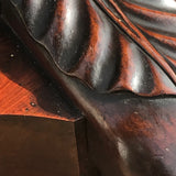 19th Century Mahogany Marble Topped Console Table - Detail View - 6
