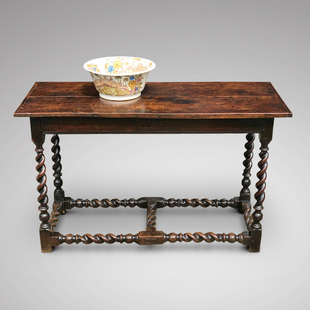 17th Century Oak Serving/Side Table - Main View - 1