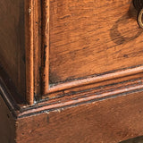 Small Early 19th Century Oak Coffer with Dummy Drawers - Detail View - 5