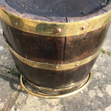 19th Century Oak Coopered Barrel - Detail View - 3