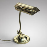 1920's Adjustable Brass Desk Lamp - Main View - 2