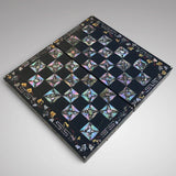 19th Century Mother of Pearl Chessboard with Backgammon Interior - Main View - 2