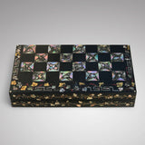 19th Century Mother of Pearl Chessboard with Backgammon Interior - Main View - 5