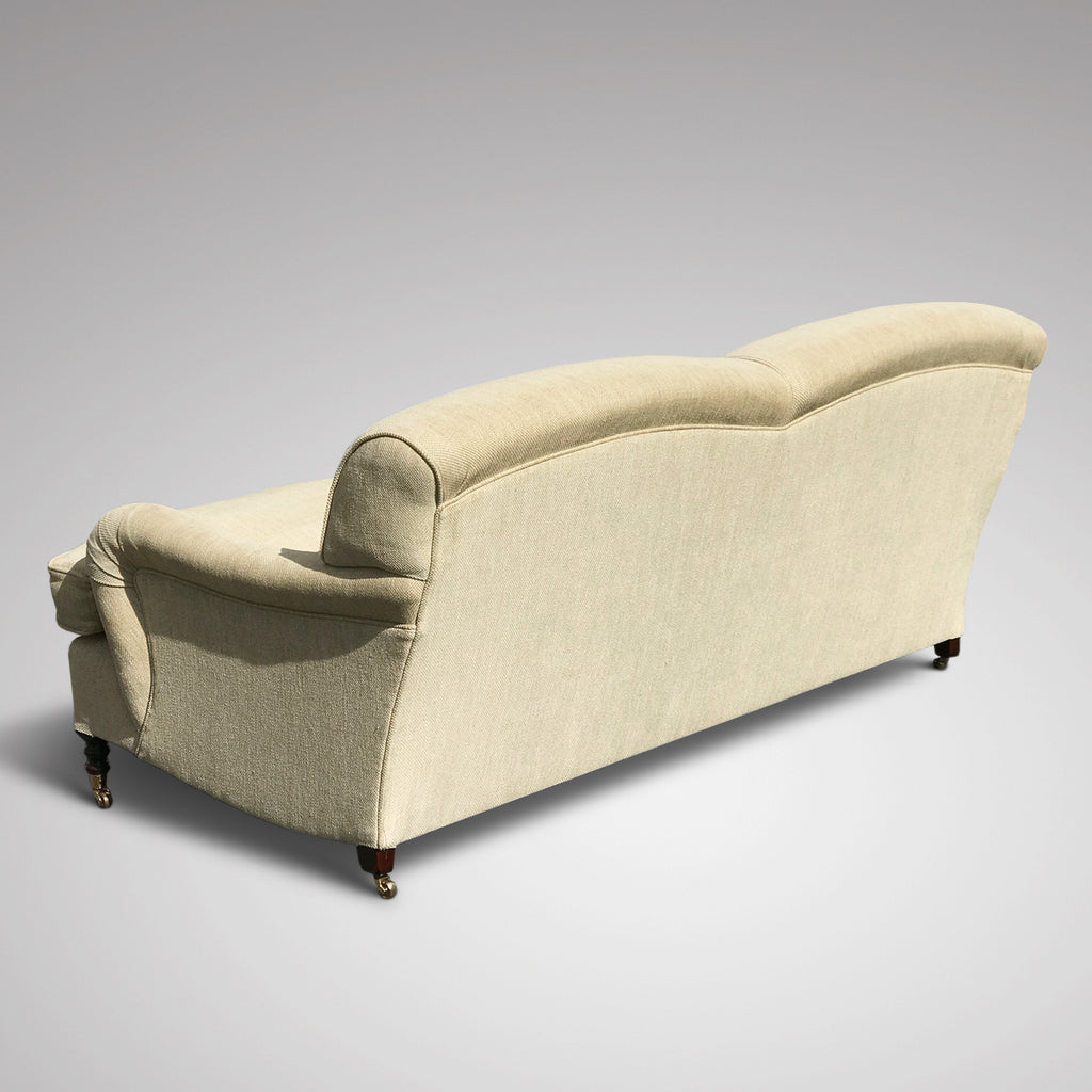 Fabulous George Smith Sofa - Back & Side View - 2