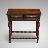 A Superb 19th Century Rosewood & Walnut Centre Table