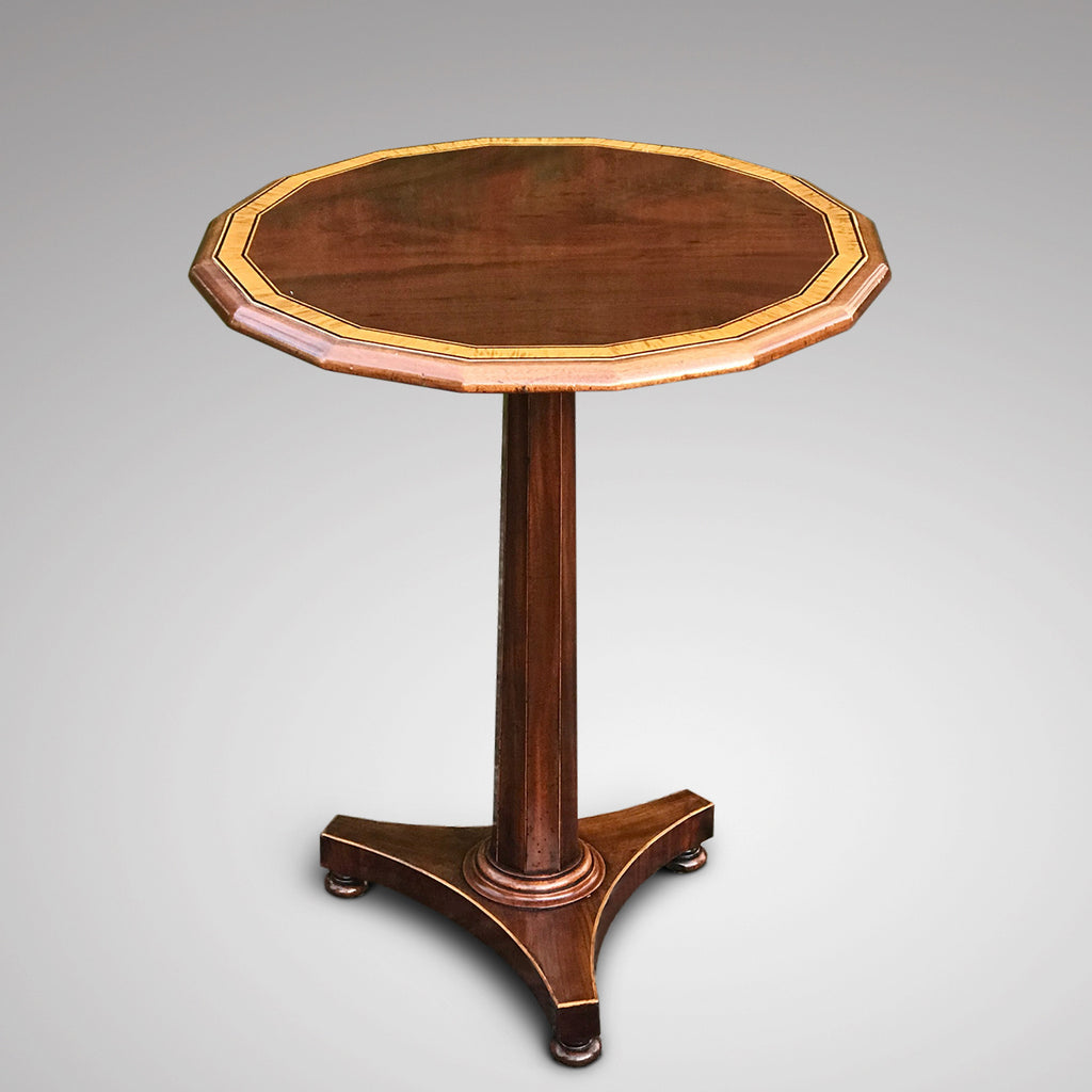 William IV Mahogany Tilt Top Table - Main View - 2