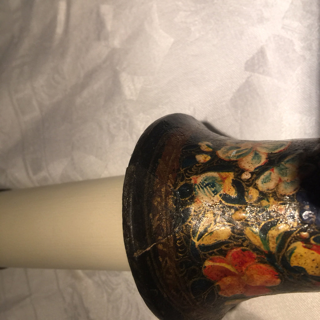 Pair of 19th Century Kashmiri Table Lamps - Detail View - 8