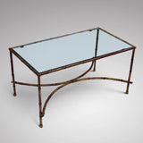 Mid Century Bamboo Effect Coffee Table - Main View - 2