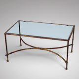 Mid Century Bamboo Effect Coffee Table - Main View - 1