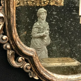 Pair of Early 20th Century Italian Silver Gilt Mirrors - Detail of Mirror Plate - 5