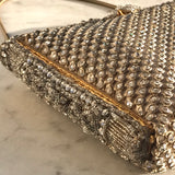 1950's French Diamante Evening Bag Compact