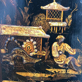 Early 18th Century Chinoiserie Corner Cupboard - Decoration Detail - 9