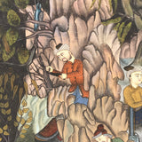 Indian School Painting of a Mogul's Camp - Detail View - 5